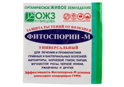 Борьба с фитофторой на помидорах. Препарат Фитоспорин, его действие и применение для обработки томатов