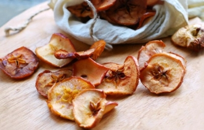 Сушеные яблоки как сушить в духовке